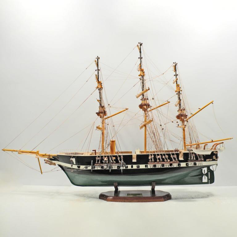 Fregatten Jyland Schiffsmodell