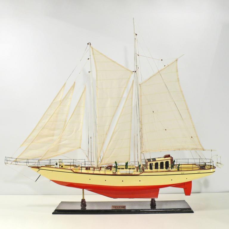 Handgefertigtes Segelschiffmodell der Helena